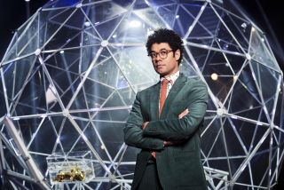 Celebrity Crystal Maze host Richard Ayoade