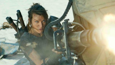Milla Jovovich in 'Monster Hunter.'