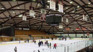 The upstate New York liberal arts college updated its NCAA Championship-winning hockey team's arena with a flexible new Dante audio system based on Linea Research amplifiers, EM Acoustics loudspeakers, and a Symetrix DSP.