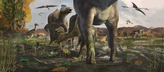 Denali dinosaur tracks