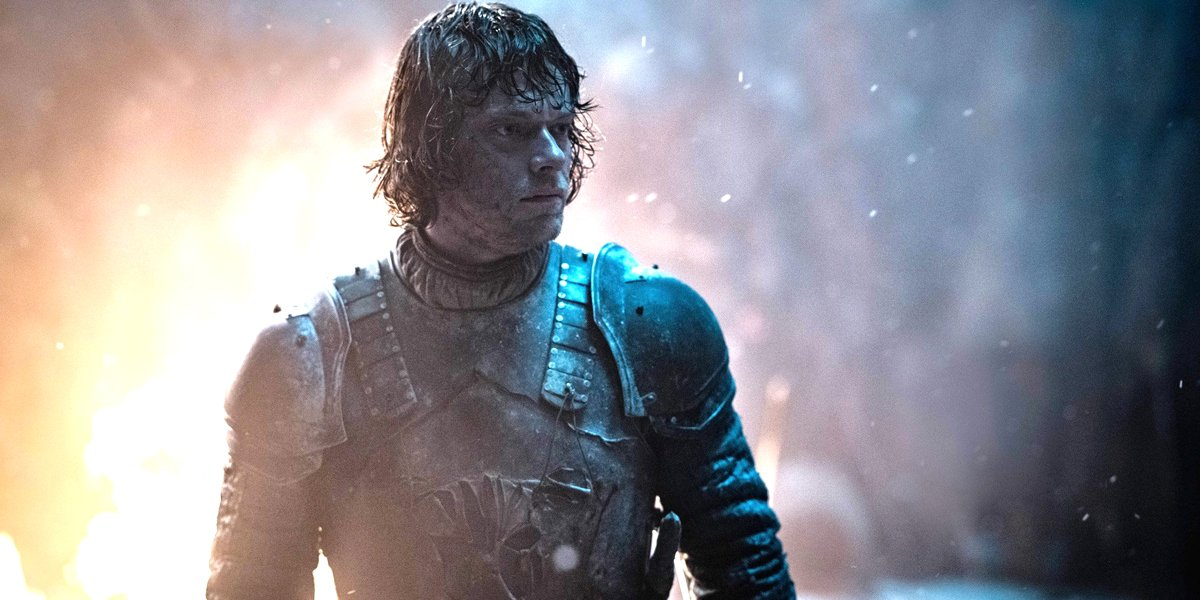 Game off Thrones Alfie Allen The Long Night HBO