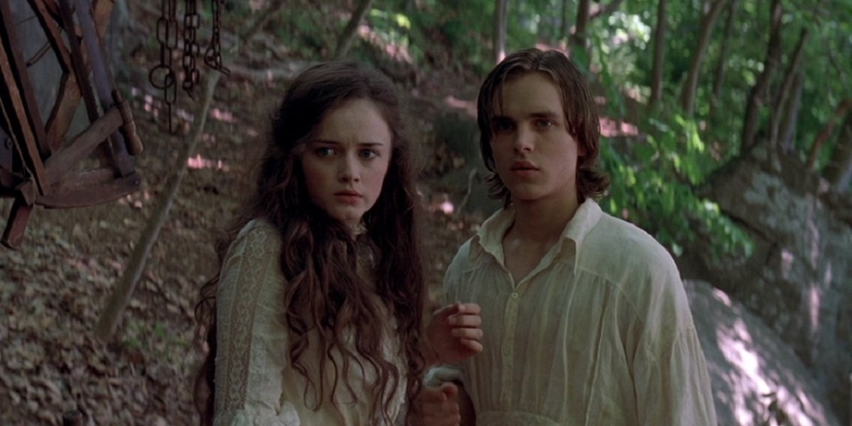 Jonathan Jackson and Alexis Bedel in Tuck Everlasting