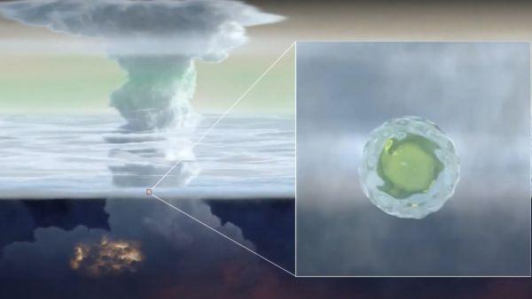 Stinky 'mushball' hailstones on Uranus may explain an atmospheric anomaly there