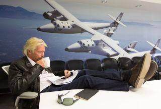 Richard Branson, founder of Virgin Galactic, as seen in 2014.