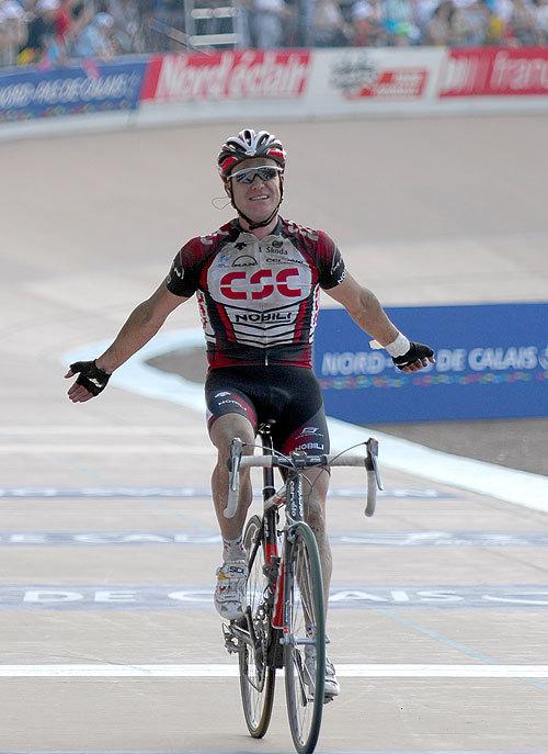 Stuart O'Grady Roubaix 2007