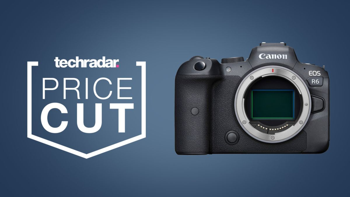 Snapping deal: Canon EOS R6 for just over AU$3,500 in this Black Friday offer - TechRadar