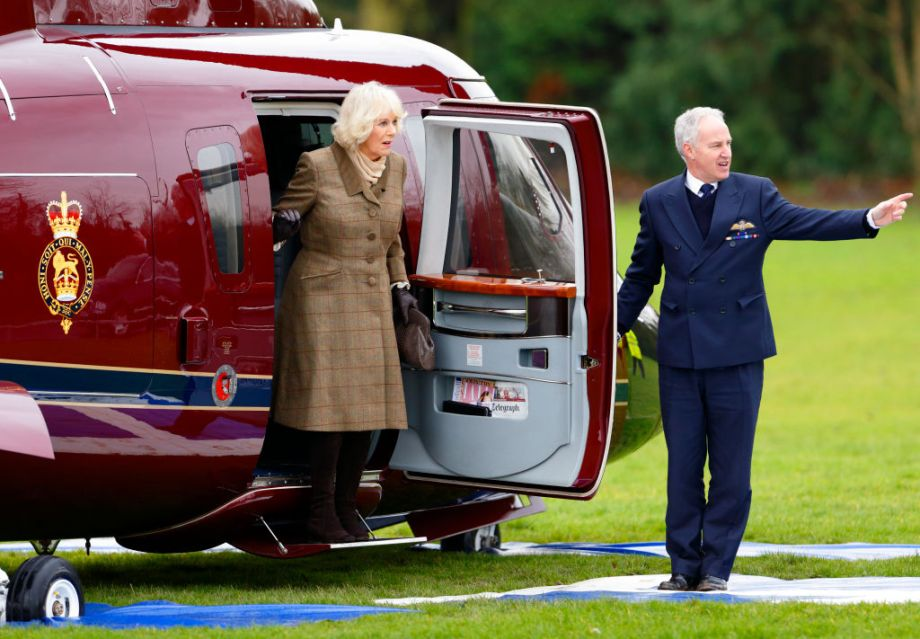 Duchess of Cornwall had lucky escape after she was 'seconds away' from head-on crash in royal helicopter
