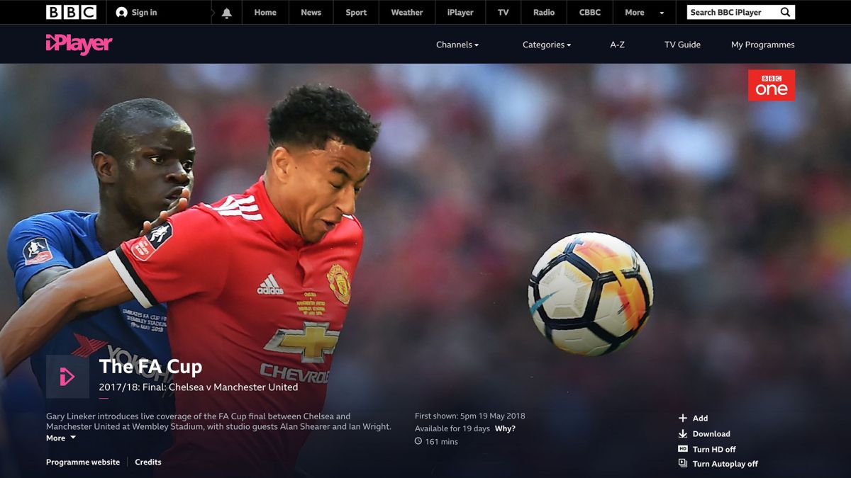 4K HDR World Cup matches coming to BBC iPlayer – but there's a catch