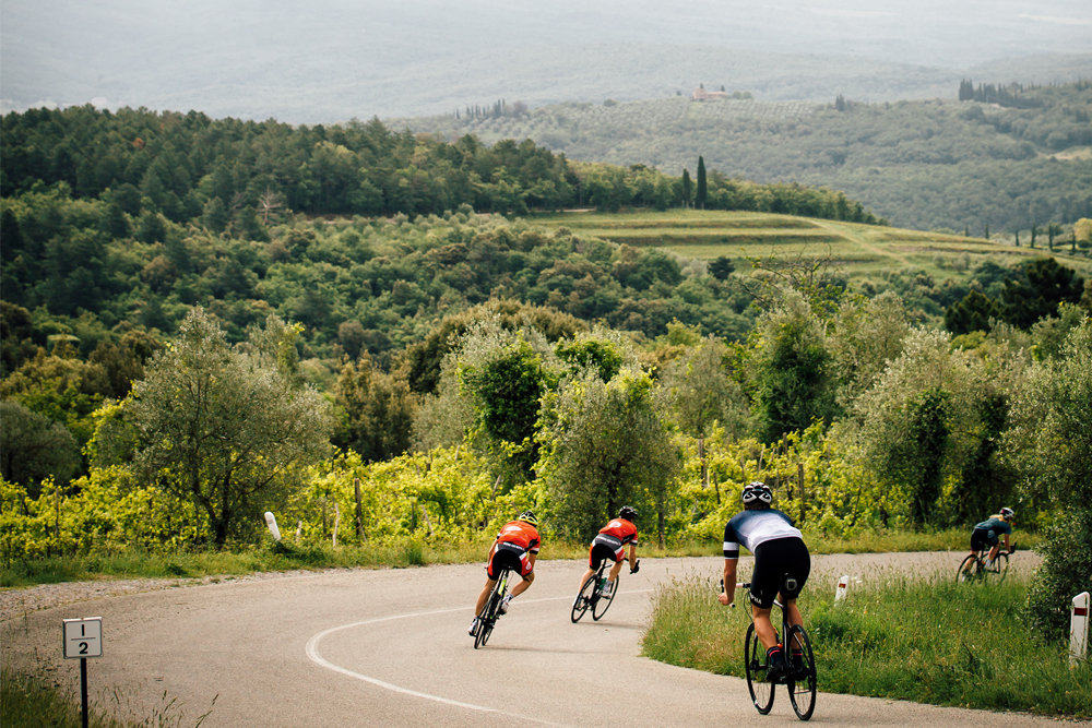 03fc8ce7b Riding the rolling hills of Tuscany on the Gallo Nero Grand Fondo ...