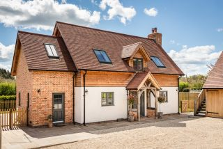 small and traditional oak frame homes