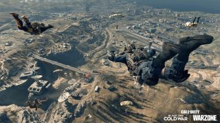 Call of Duty: Warzone skydive