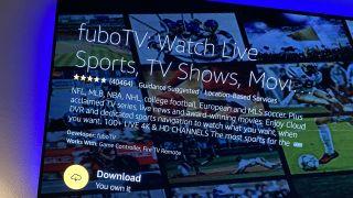 FuboTV on Amazon Fire TV