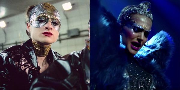 Natalie Portman And Raffey Cassidy in Vox Lux