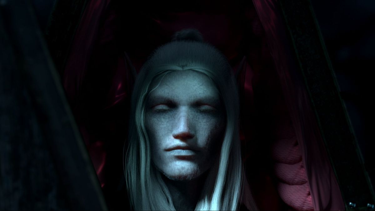V Rising is a survival game where you're a vampire