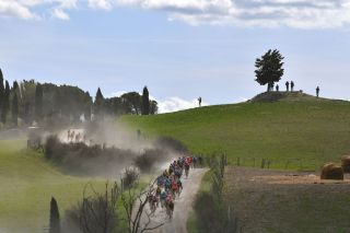 The likelihood of the 2020 Strade Bianche being postponed is high in the week leading up to the race