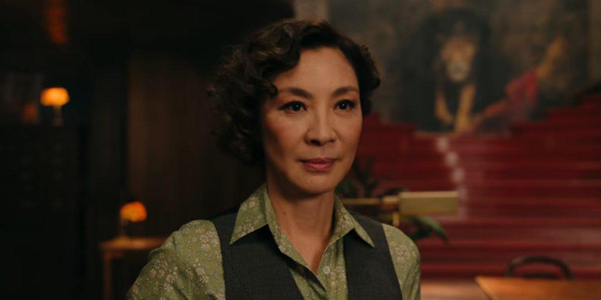 Michelle Yeoh in Gunpowder Milkshake