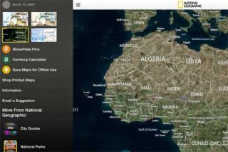 Interactive Map App Offers the World