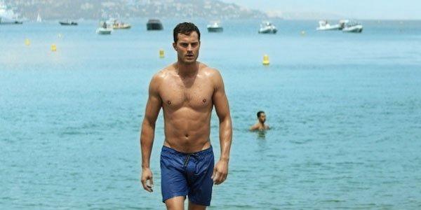 Jamie Dornan shirtless in Fifty Shades