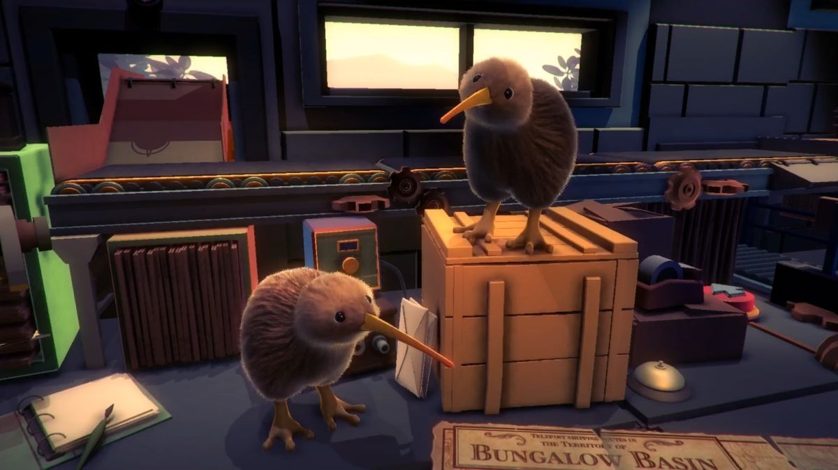 Run a post office as two flightless birds in KeyWe, the most adorable co-op game since Overcooked 2