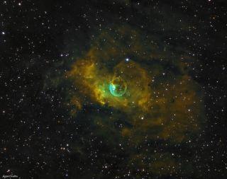 Bubble Nebula by Chadha