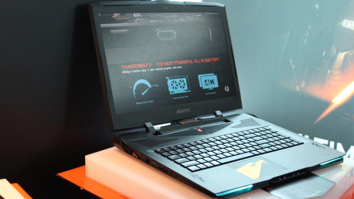 First look at Gigabyte's new Aorus gaming laptops | TechRadar