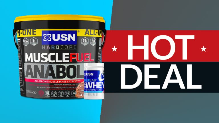 Protein powder deal: FREE premium USN whey protein when you buy a tub of Muscle Fuel Anabolic muscle gain blend