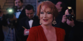 Apparently Meryl Streep Belted Her The Prom Numbers For Hours And Her Co-Stars Were In Awe