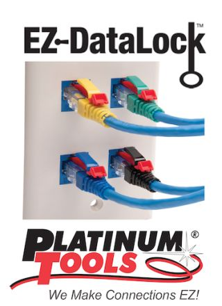 Platinum Tools Adds EZ-Datalock Strain Reliefs to EX-RJ45 Solutions