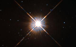 Proxima Centauri Hubble View