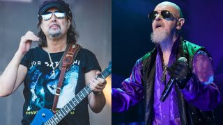 Phil Campbell and Rob Halford