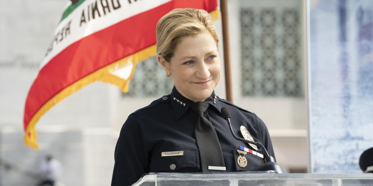 Edie Falco in Tommy TV series