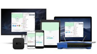 ExpressVPN apps running on multiple devices