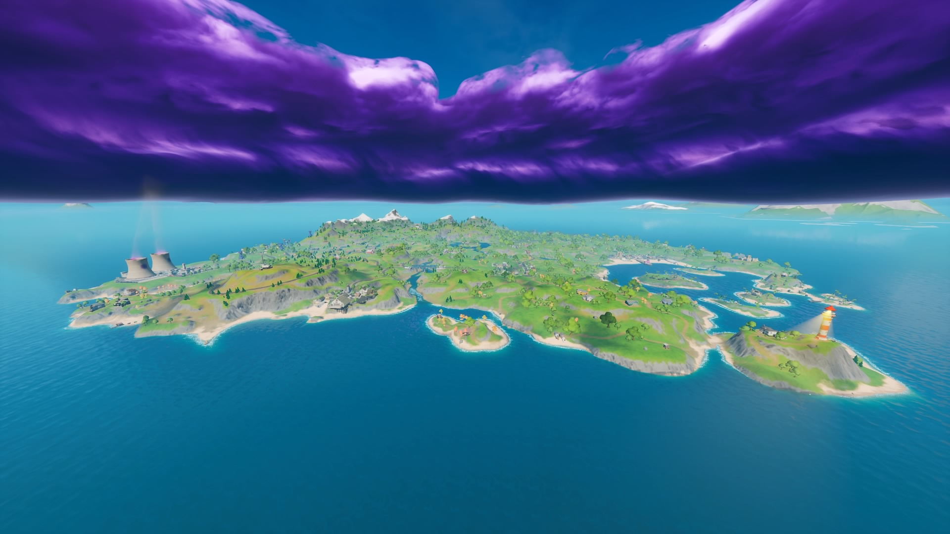 Fortnite Chapter 2 Map Every Place Of Interest On The New
