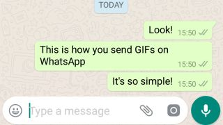 How to send GIFs in WhatsApp | TechRadar