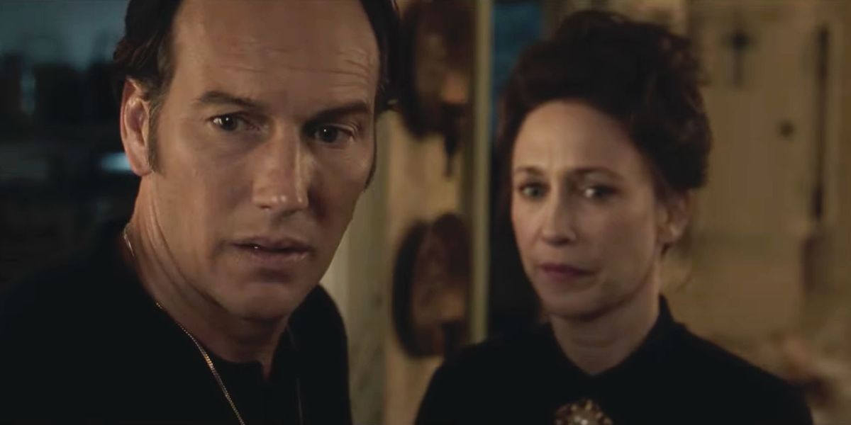 Ed and Lorraine from The Conjuring.