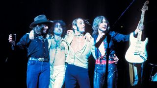 A shot of Bad Company in 1976