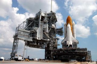 With Shuttle and Cargo at Pad, NASA Steps Closer Toward Launch