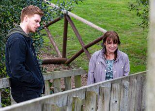 Luke finally tells Wendy the truth in Emmerdale