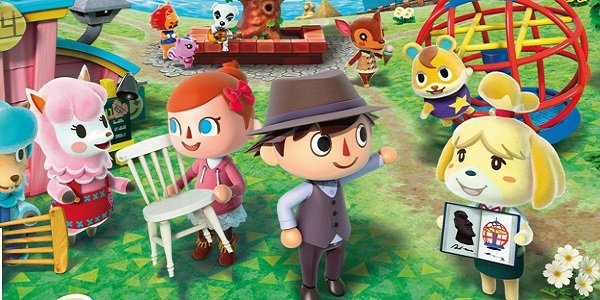 Animal Crossing citizens having a good time