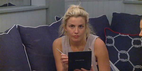 Big Brother 21 Kathryn Dunn puts on her makeup in first week 2019 CBS