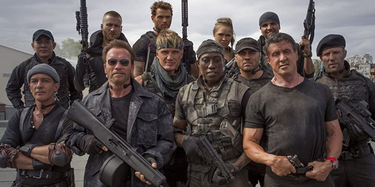 Sylvester Stallone, Wesley Snipes And More Badasses Unite In Throwback Expendables Footage
