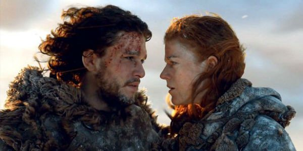 Kit Harington Rose Leslie Game of Thrones