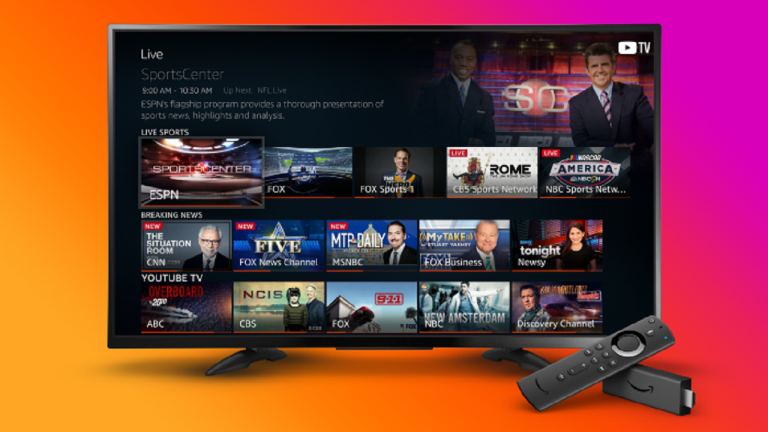 Live TV on Amazon Fire TV
