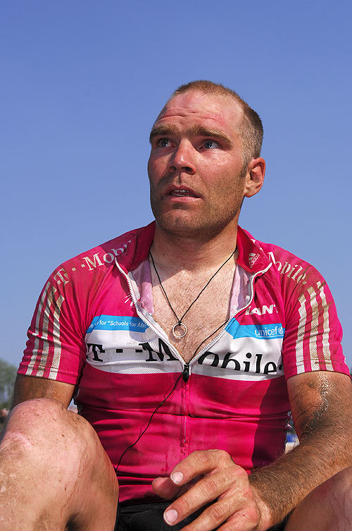 Roger Hammond after Roubaix 2007