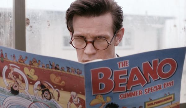 matt smith doctor who reading beano