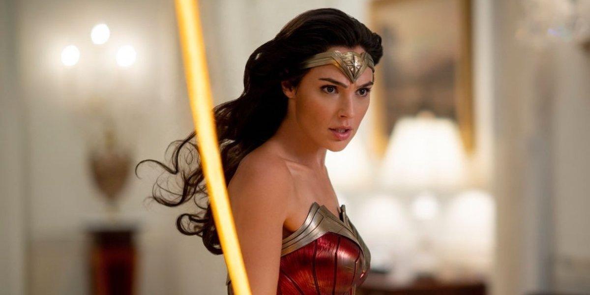 Gal Gadot as Diana of Themyscira in Wonder Woman 1984