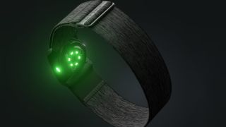 The Polar Verity Sense heart rate monitor