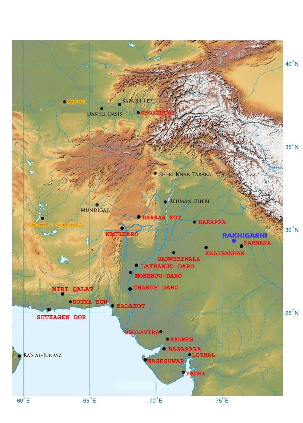 Traces of Long-Lost Indus Valley Civilization Found in