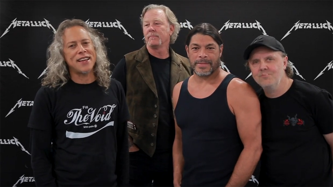 Metallica thank more than 3000 fans for helping out at their local food banks | Louder
