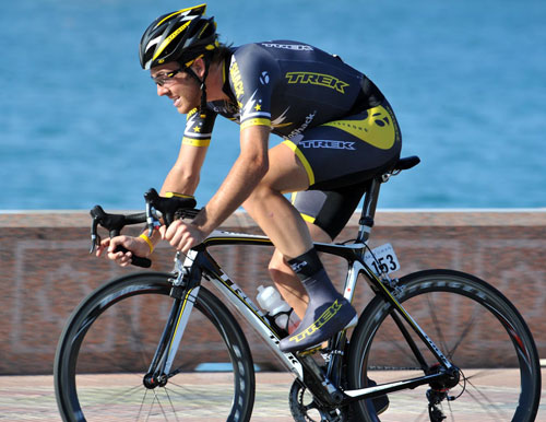 Alex Dowsett, Tour of Oman 2010, stage 6 ITT